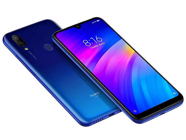 Redmi 7 is protected by Gorilla Glass 5.