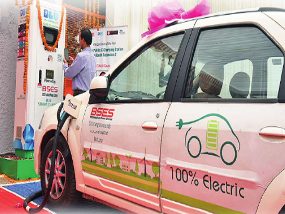 Now, book slot on app to charge your e-car in Delhi