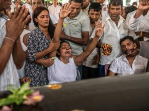 Families of Sri Lanka Easter bombing victims