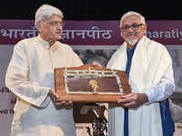 Amitav Ghosh feted with 54th Jnanpith Award for 'contribution to literature'
