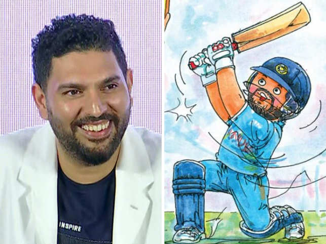 Amul joined the fans and dedicated a special cartoon to Yuvraj Singh. 