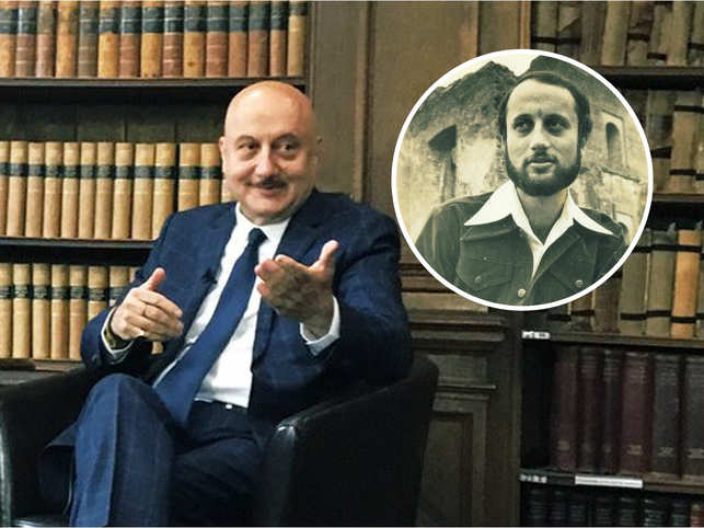 Anupam Kher feels that failure is an event, not a person. (Inset: Kher's film movie 'Saaransh' released in 1984)