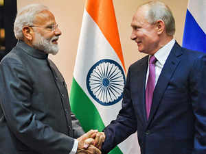 PM Modi meets Vladimir Putin in Bishkek