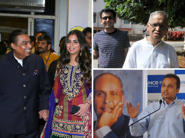 All about my father! When Anil, Isha Ambani, Rohan Murty turned to dad for inspiration