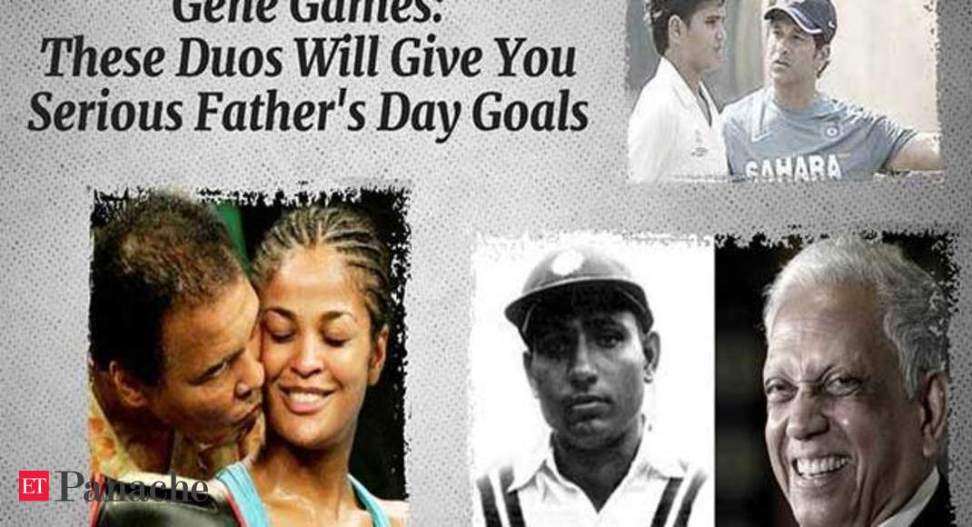 Gene Games: These Duos Will Give You Serious Father's Day Goals