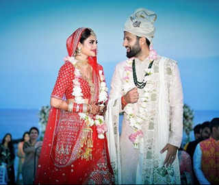 Happily ever after: Actress-MP Nusrat Jahan ties the knot in an intimate ceremony in Turkey