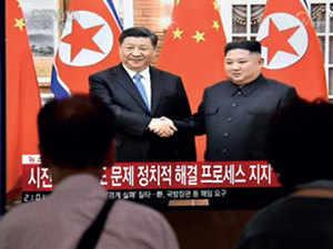 Xi Jinping says world hopes North Korea-US talks can succeed