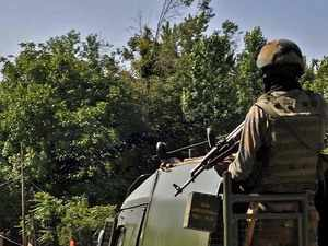 Bullet proof equipment used by security forces being reviewed in J&K