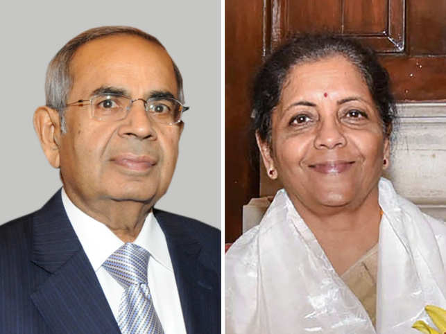 ​GP Hinduja (L) is confident that the new FM Nirmala Sitharaman (R) will break the glass ceiling again.