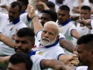 Yoga Day: PM leads celebrations in Ranchi, thousands in India and world roll out their mats