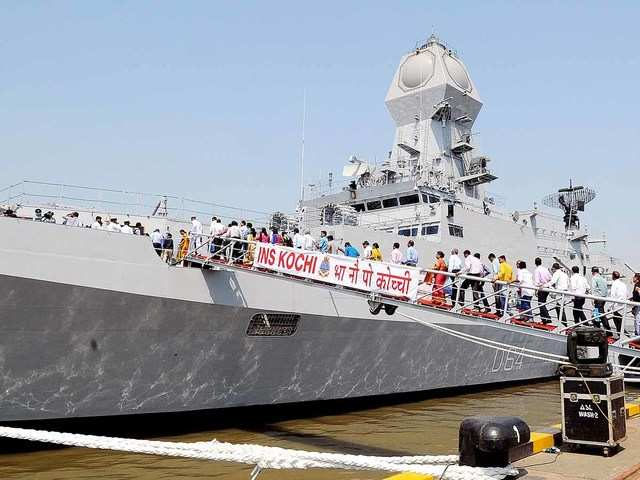 No impact of fire on completion schedule of warship 'Visakhapatnam': Officials