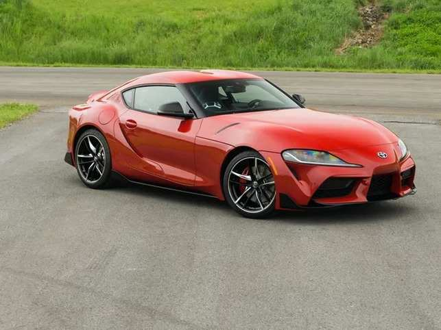 c97d5130b2 Toyota Motor Corp.'s new Supra. Made in collaboration with BMW to resurrect  a line of cult sports cars the Japanese brand churned out from 1978 to  2002, ...