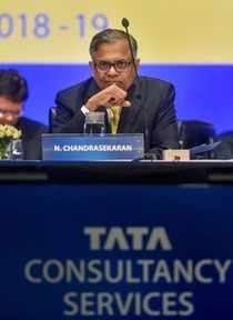 Mumbai: Tata Sons Chairman N Chandrasekaran during the Annual General Meeting of...