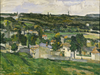 Paul Cezanne's 'View Of Auvers-Sur-Oise'
