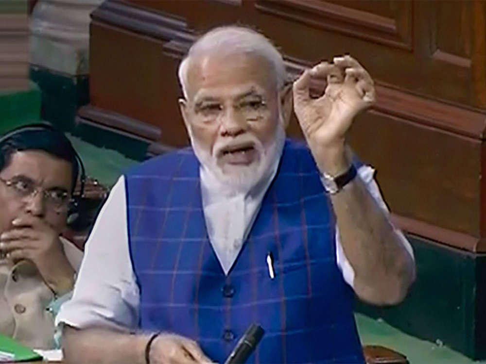 PM Modi outlines government's goals for next 5 years