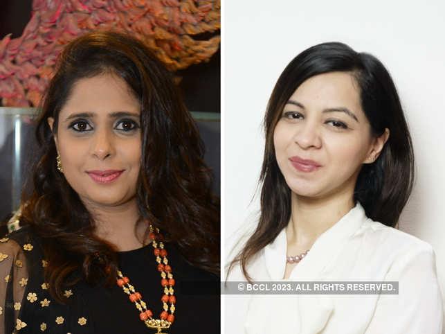Sarika Naheta (L) and Dipti Tolani (R) waiting with bated breath for this year's Budget.