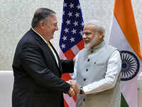 Pompeo meets PM Modi, discusses key strategic issues