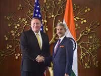 Jaishankar, Pompeo hold talks to strengthen Indo-US strategic partnership