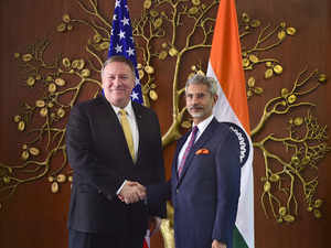 Jaishankar, Pompeo hold talks to strengthen Indo-US strategic partnership