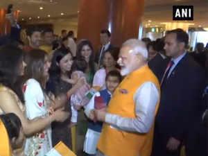 Watch: 'Modi-Modi' chants echo as Indian community welcomes PM in Japan's Osaka