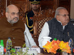 Take strict action against terror funding in J-K: Shah to security forces