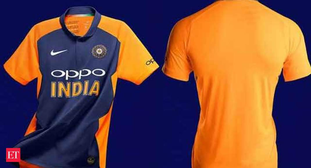 size 40 1c9b9 35a43 World Cup 2019: BCCI unveils new jersey of Team India for away games