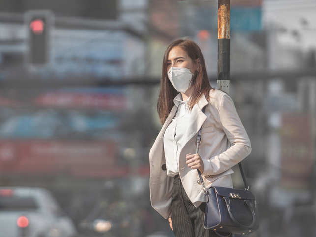 Polluted city