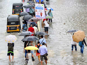 Mumbai paralysed after incessant rain