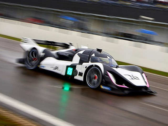 Roborace features all-electric self-driving race cars, where programmers are the stars
