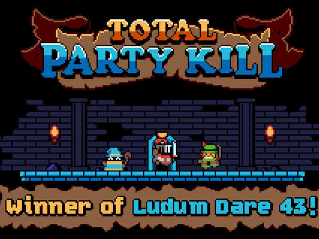 Total Party Kill has a total of 60 levels, and you can play them all for free. 