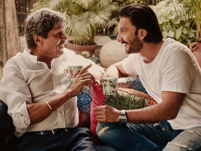 Ranveer Singh trained with Kapil Dev for ''83'