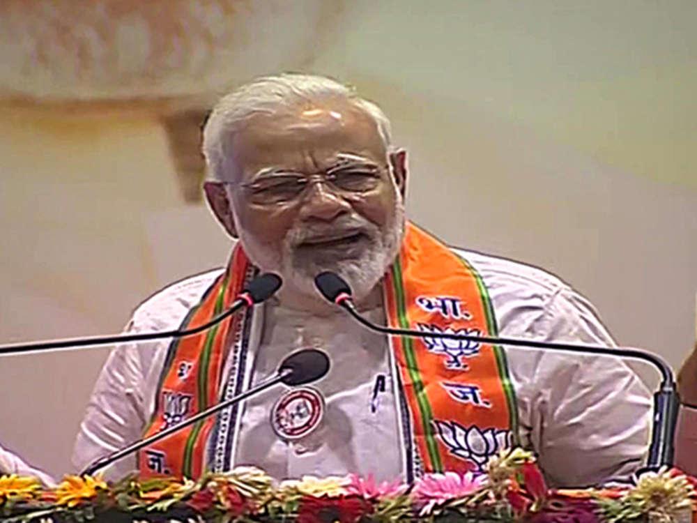 Critics of USD 5-trillion economy goal professional pessimists, India poised to race ahead: PM Modi