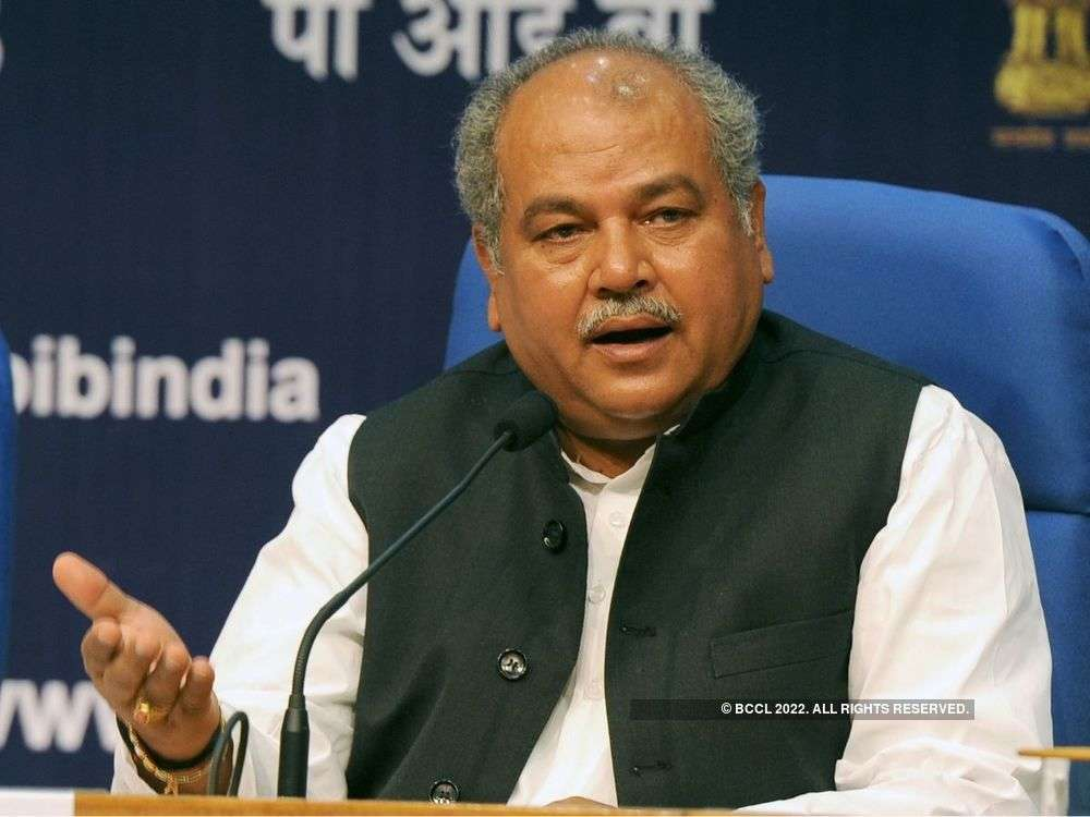 Agriculture Minister Narendra Singh Tomar tells states to help increase farm earning