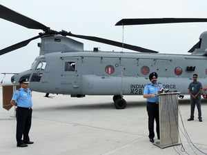 Two new Boeing Chinook helicopters arrive for IAF