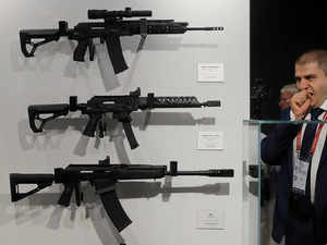 Joint venture for AK 203 rifles factory at Amethi was the `fastest ever' created with Russia
