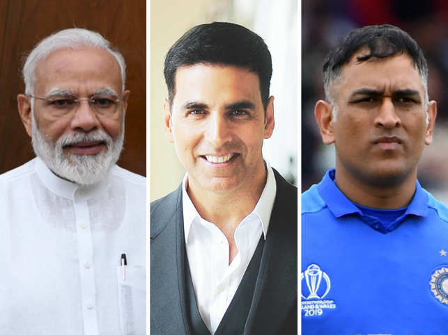 PM Modi becomes India's top health influencer, Akshay Kumar follows; Dhoni makes debut