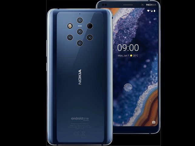 nokia 9 pureview: Nokia 9 PureView with five-camera array system