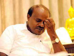 Karnataka crisis: CM HD Kumaraswamy mulls resignation