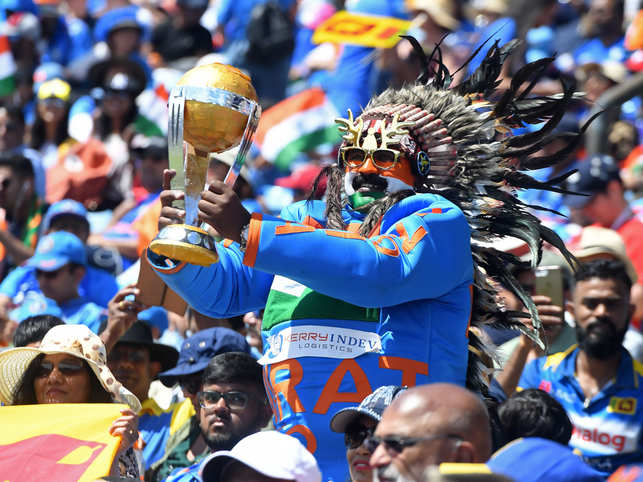 Many expected that Indian fans would be selling off their tickets for the final