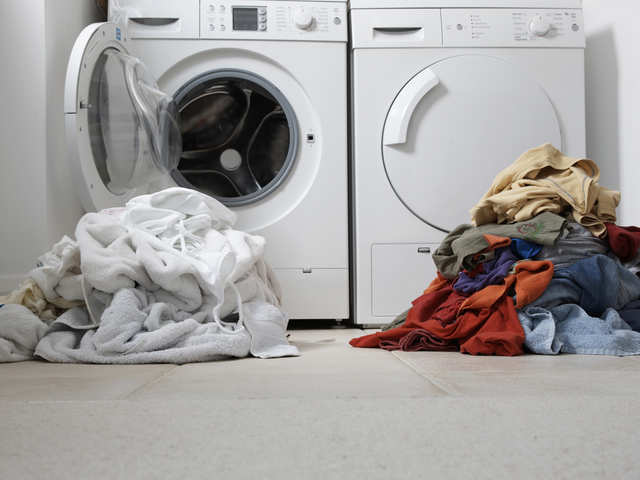 A time when laundry becomes a dirty word