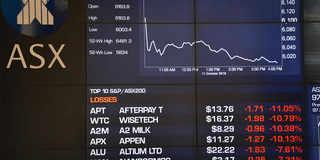 Australian shares: Australian shares end lower on renewed trade war