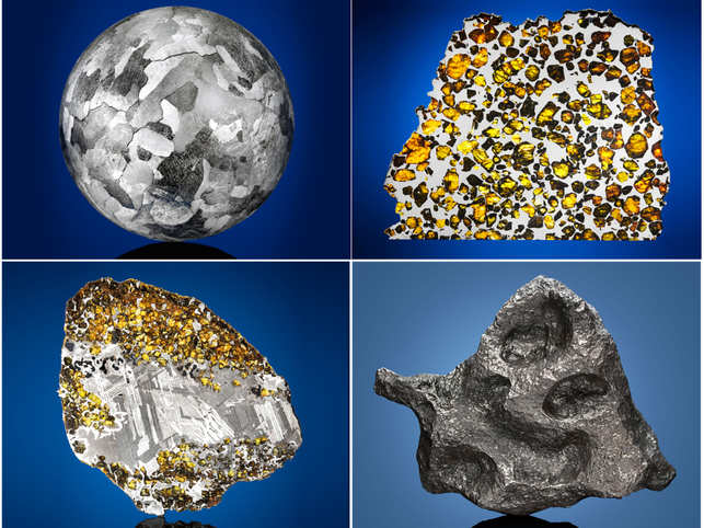 Rare meteorites that originated from Mars are also being auctioned.