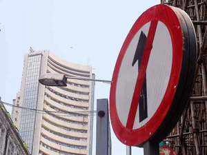 Sensex slips 87 pts, Nifty barely holds 11,550; financial stocks drag
