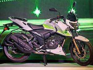 TVS launches ethanol-powered Apache RTR 200 Fi E100 at Rs 1.20 lakh