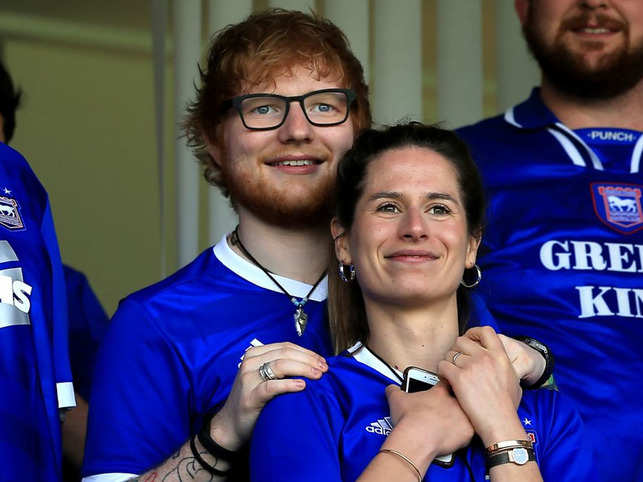 Ed Sheeran dating liste