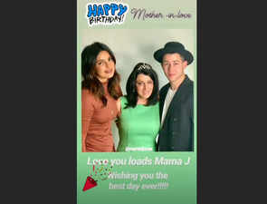 Happy birthday, Mama J! Priyanka Chopra shares adorable post for mother-in-law