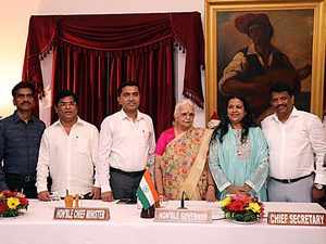 Goa: GFP ministers dropped from cabinet to make way for 3 Congress defectors