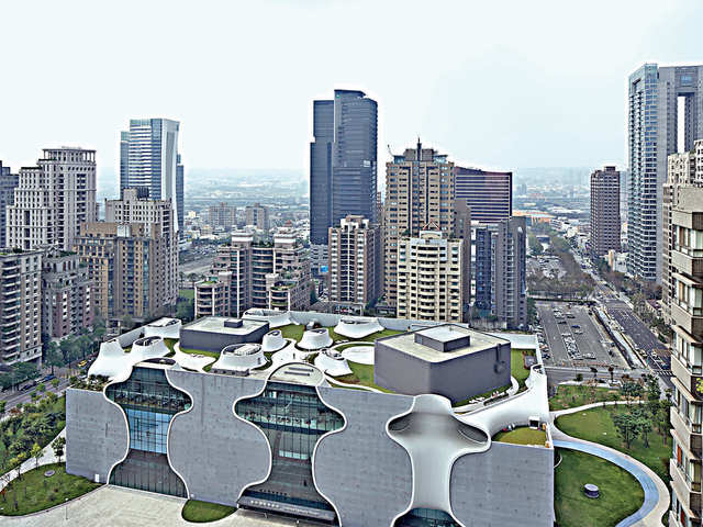 Taiwan's second largest city undergoing an architectural and cultural renaissance