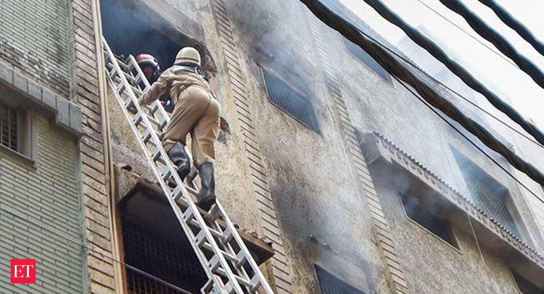 Delhi: 5 dead after massive fire erupts at rubber factory in Jhilmil  industrial area