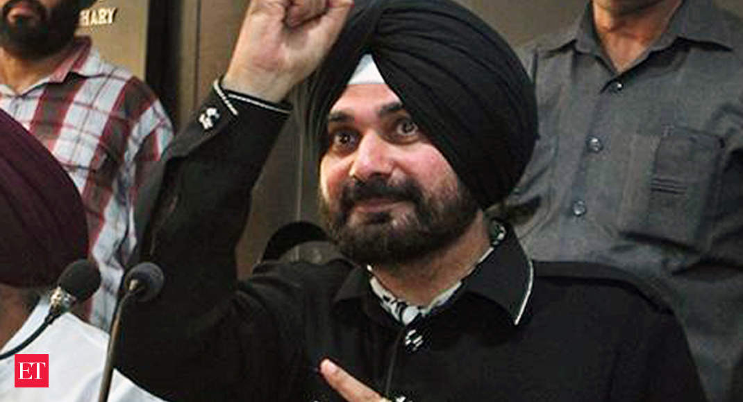 Navjot Singh Sidhu resigns from the Punjab Cabinet